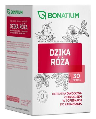 Bonatium Dzika róża herbatka owocowa z hibiskusem 30 torebek