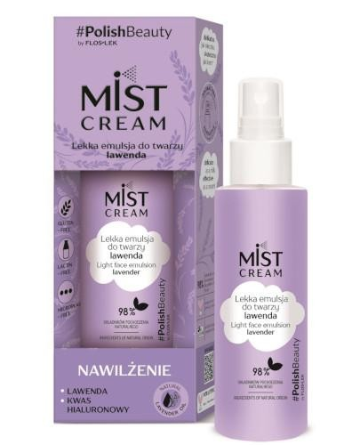 Flos-Lek Mist Cream lekka emulsja do twarzy lawenda 110 ml