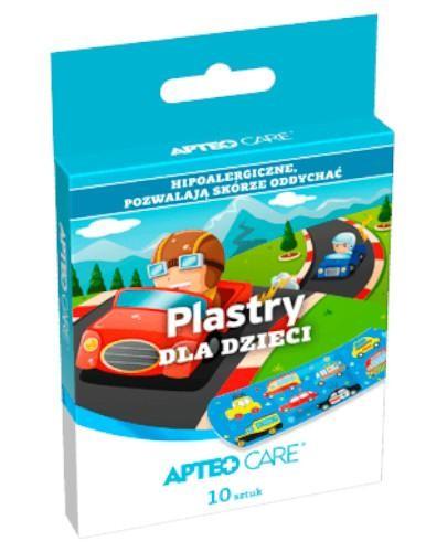 Apteo plastry dla dzieci samochody 10 sztuk