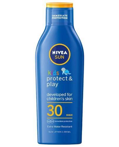 Nivea Sun Kids Protect & Play balsam ochronny na słońce dla dzieci SPF 30 200 ml
