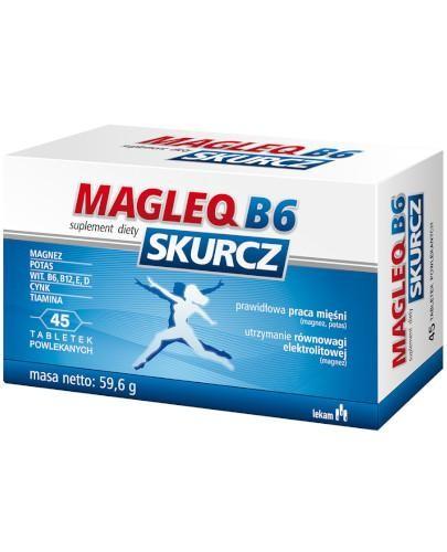 Magleq B6 skurcz 45 tabletek