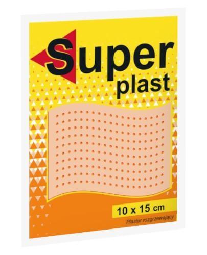 Super Plast plaster rozgrzewający 10 x 15 cm 1 sztuka