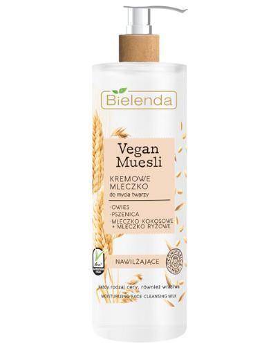 Bielenda Vegan Muesli kremowe mleczko do mycia twarzy nawilżające 175 g