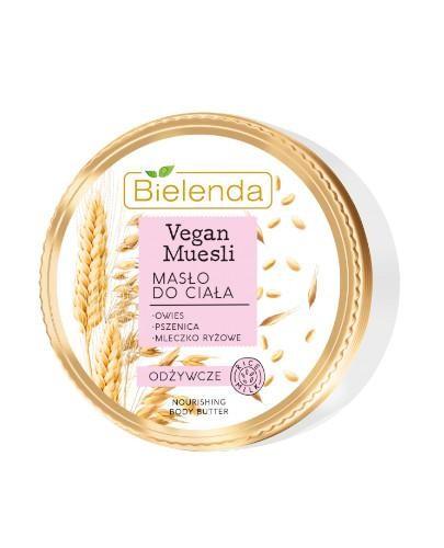 Bielenda Vegan Muesli masło do ciała odżywcze 250 ml