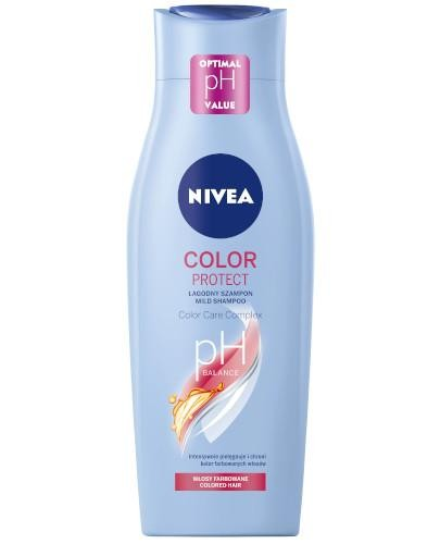Nivea Color Protect łagodny szampon do włosów farbowanych 400 ml