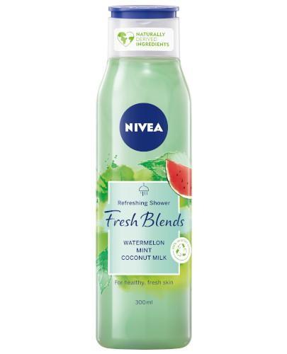 Nivea Fresh Blends żel pod prysznic arbuz i mięta z mlekiem kokosowym 300 ml