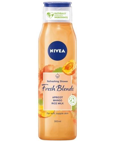 Nivea Fresh Blends żel pod prysznic morela i mango z mlekiem kokosowym 300 ml