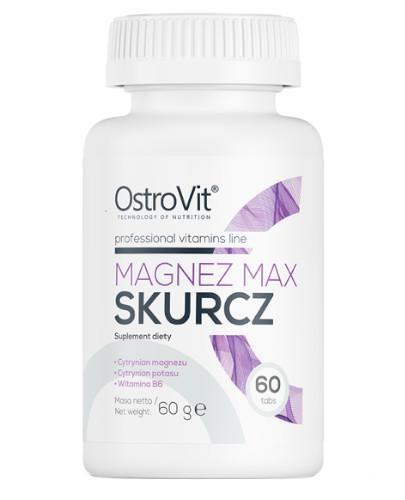 OstroVit Magnez Max Skurcz 60 tabletek