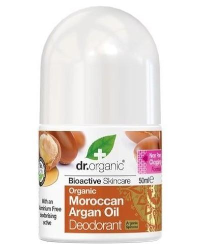Dr. Organic Morocan Argan Oil dezodorant z organicznym marokańskim olejem arganowym 50 ml