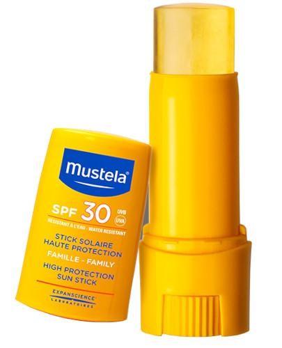 Mustela sztyft przeciwsłoneczny SPF30 9 ml