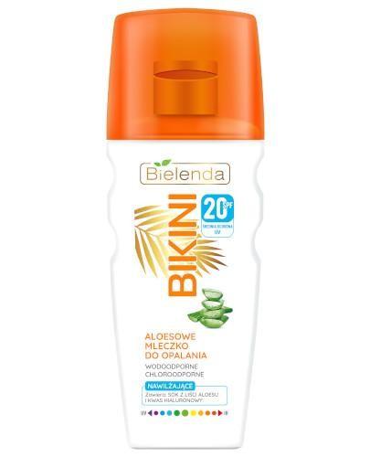 Bielenda Bikini aloesowe mleczko do opalania SPF20 200 ml