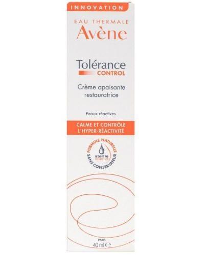 Avene Tolerance Control krem łagodząco regenerujący 40 ml