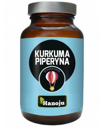 Hanoju Kurkuma + Piperyna 90 kapsułek