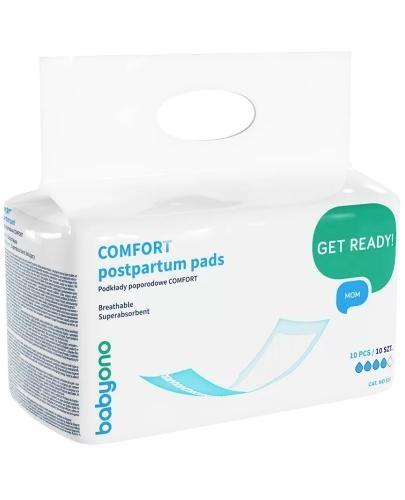 Babyono Comfort podkłady poporodowe 10 sztuk [597]