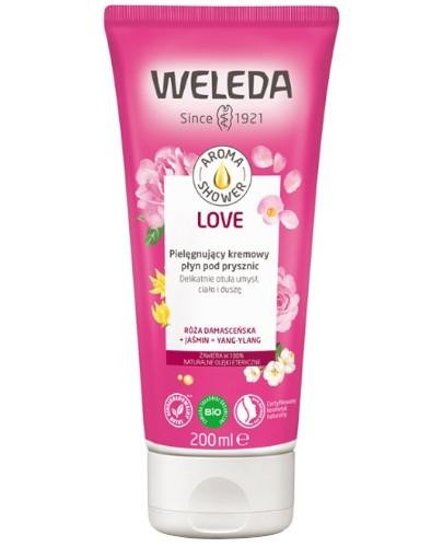 Weleda Aroma Shower Love pielęgnujący kremowy płyn pod prysznic 200 ml