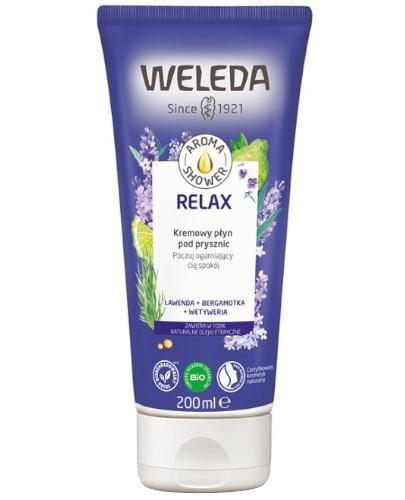 Weleda Aroma Shower Relax kremowy płyn pod prysznic 200 ml