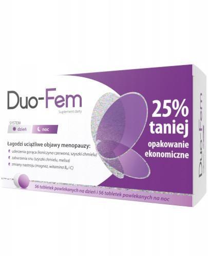 Duo-Fem system dzień i noc 2x 56 tabletek