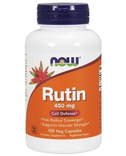 NOW Foods Rutine 450 mg (rutyna) 100 kapsułek