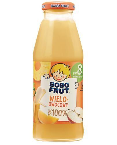 Bobo Frut Sok 100% wieloowocowy po 8 miesiącu 300 ml