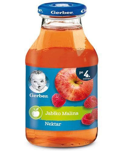 Nestlé Gerber nektar jabłko malina po 4 miesiącu 200 ml
