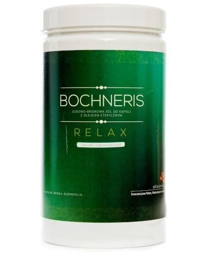 Bochneris Relax sól jodowo-bromowa z olejkiem lemongrasowym 1400 g