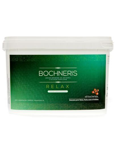 Bochneris Relax sól jodowo-bromowa z olejkiem lemongrasowym 3 kg