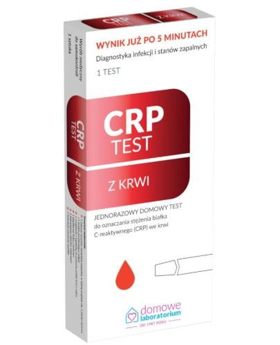 Domowe Laboratorium CRP test z krwi 1 test