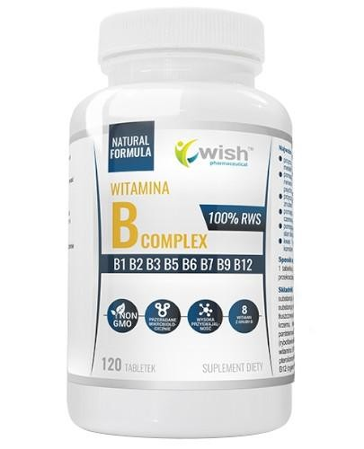 Wish Witamina B Complex 120 tabletek  whited-out
