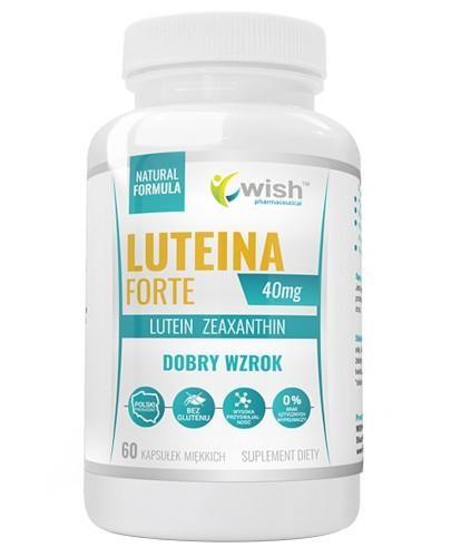 Wish Luteina Forte 40 mg 60 kapsułek miękkich