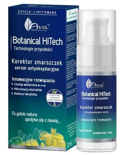 Ava Botanical HiTech Korektor zmarszczek serum antyoksydacyjne 30 ml