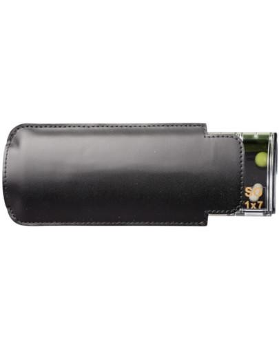 Kasetka na leki ANABOX 1 x 7 de luxe 7 dniowa kolor czarny mat 1 sztuka
