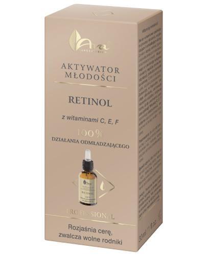 Ava Aktywator Młodości Retinol z witaminami C, E, F serum 30 ml