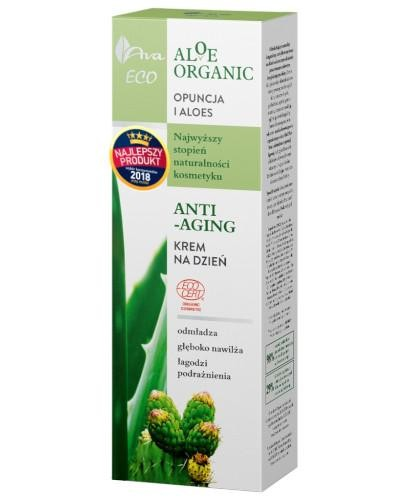 Ava Eco Aloe Organic krem na dzień anti-aging 50 ml