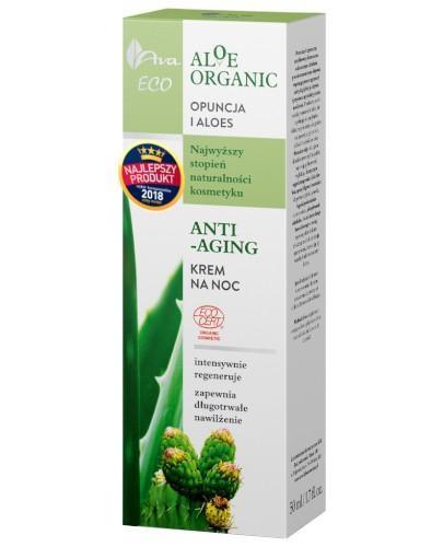 Ava Eco Aloe Organic krem na noc anti-aging 50 ml