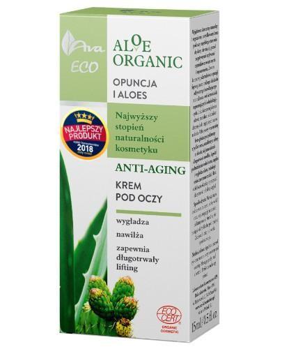 Ava Eco Aloe Organic krem pod oczy anti-aging 15 ml