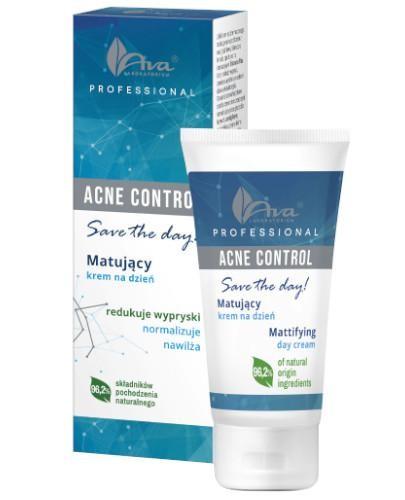 Ava Acne Control Professional Matujący krem na dzień 50 ml