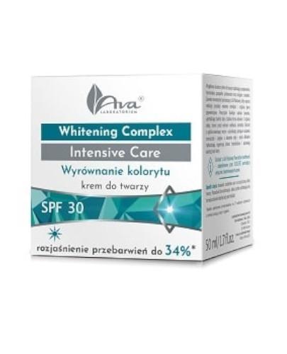 Ava Whitening Complex Intensive Care Wyrównanie kolorytu krem do twarzy na dzień SP...