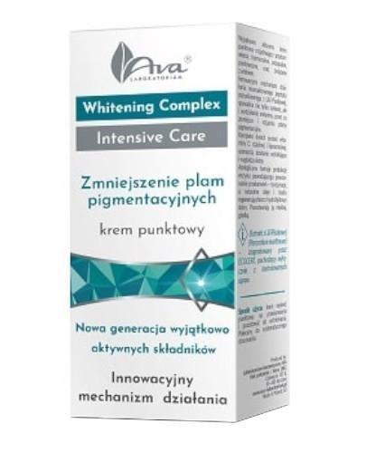 Ava Whitening Complex Intensive Care Zmniejszenie plam pigmentacyjnych krem punktowy 15 ml
