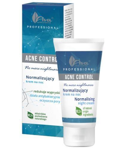 Ava Acne Control Professional Normalizujący krem na noc 50 ml