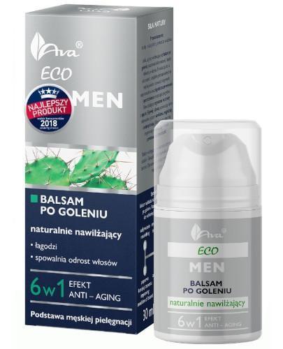 Ava Eco MEN nawilżający balsam po goleniu 6w1 50 ml