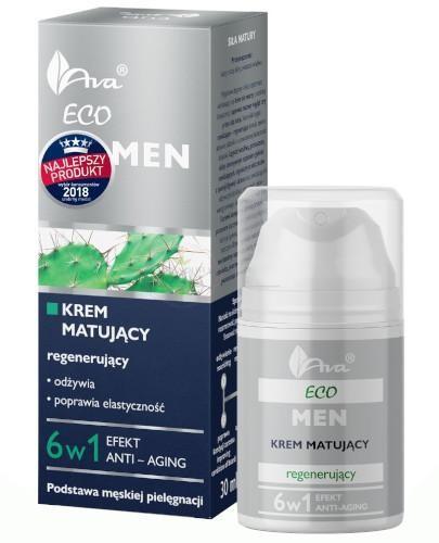 Ava Eco MEN krem matujący - regenerujący 6w1 50 ml