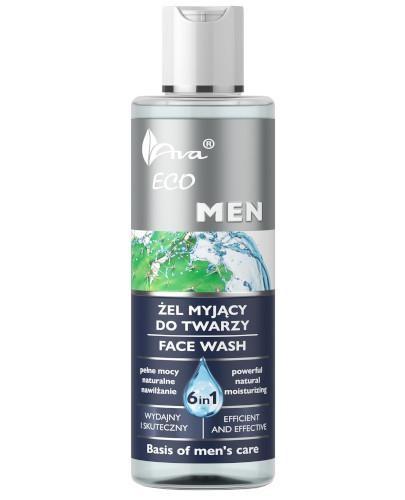 Ava Eco MEN żel myjący do twarzy 6w1 200 ml
