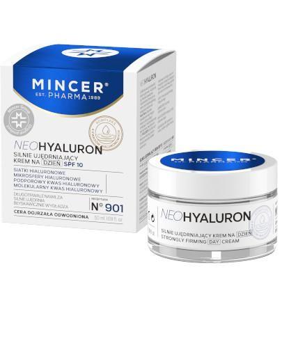 Mincer Pharma Neohyaluron N901 silnie ujędrniający krem na dzień SPF 10 50 ml