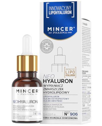 Mincer Pharma Neohyaluron N906 wypełniacz zmarszczek hydrolipidowy 15 ml