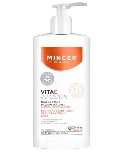 Mincer Pharma Vita C Infusion N623 nawilżający balsam do ciała 250 ml