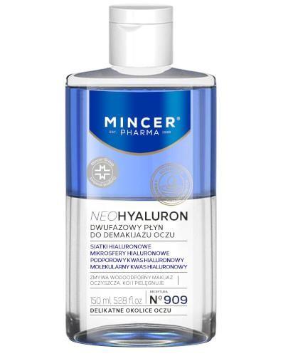 Mincer Pharma Neohyaluron N909 dwufazowy płyn do demakijażu 150 ml