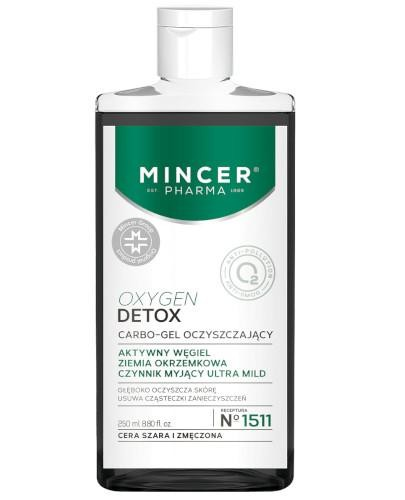 Mincer Pharma Oxygen Detox N1511 żel oczyszczający 250 ml
