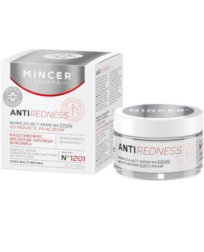 Mincer Pharma Antiredness N1201 nawilżający krem na dzień 50 ml