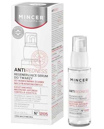 Mincer Pharma Antiredness N1205 regenerujące serum do twarzy 30 ml