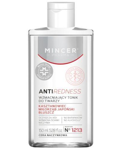 Mincer Pharma Antiredness N1213 wzmacniający tonik do twarzy 150 ml